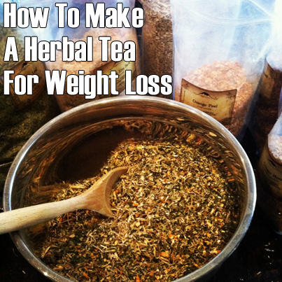 How To Make A Herbal Tea Blend for Weight Loss