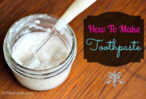 How To Make Your Own Natural Toothpaste
