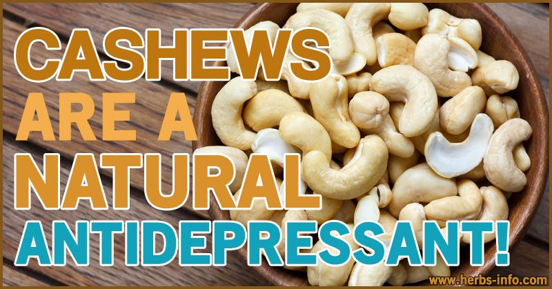 Cashews Are A Natural Anti-Depressant