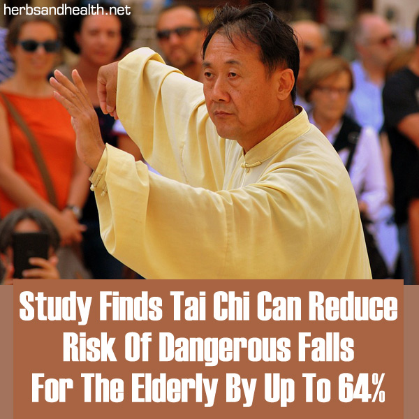 Study Finds Tai Chi Can Reduce Risk Of Dangerous Falls For The Elderly By Up To 64%