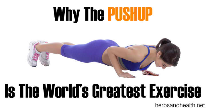 Why The Pushup Is The World's Greatest Exercise